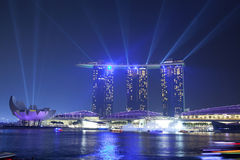 Marina Bay Sands hotel Stock Images