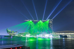 Marina Bay Sands hotel Stock Photography