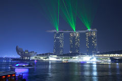 Marina Bay Sands hotel Royalty Free Stock Images