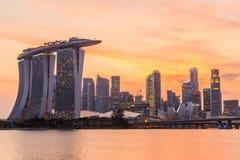 Marina Bay Sands Hotel Royalty Free Stock Photo