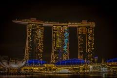 Marina bay sands hotel Royalty Free Stock Image
