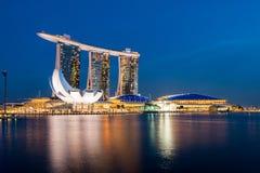 Marina Bay Sands Hotel Royalty Free Stock Photography