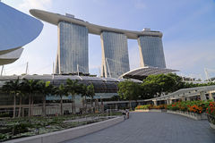Marina Bay Sands Hotel in Singapore Stock Photography