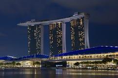 Marina Bay Sands Hotel Royalty Free Stock Photos