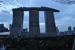 Marina Bay Sands Hotel Singapore Stock Images