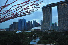 Marina Bay Sands Hotel Singapore Royalty Free Stock Photos