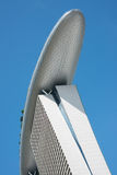 Marina Bay Sands Hotel Tower Royalty Free Stock Images