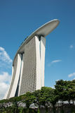 Marina Bay Sands Hotel Tower Royalty Free Stock Photography