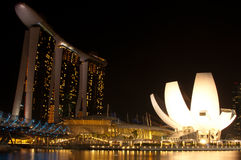 Marina Bay sands Integrated Resort Royalty Free Stock Images