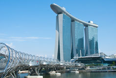 Marina Bay sands Integrated Resort Stock Images