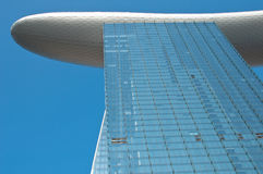 Marina Bay sands Integrated Resort Hotel Tower Stock Images