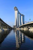 Marina Bay Sands Integrated Resort,Singapore Stock Photography
