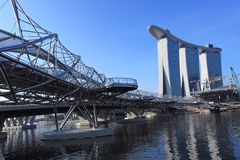 Marina Bay Sands Integrated Resort,Singapore Royalty Free Stock Photos