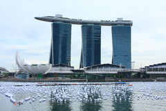 Marina Bay Sands Integrated Resort, Singapore Stock Image