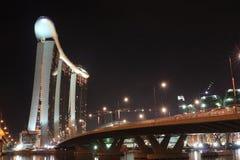 Marina Bay Sands Landscape Stock Photography