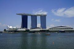 Marina Bay Sands Landscape Fotografie Stock Libere da Diritti