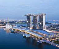 Marina Bay Sands MBS Stock Images