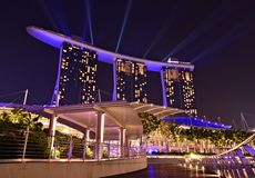 Marina Bay Sands Royalty Free Stock Photography