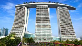 Marina Bay Sands. Stock Photography