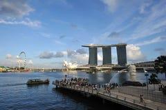 The Marina Bay Sands Resort Royalty Free Stock Photo