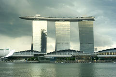 Marina Bay Sands resort Stock Photography