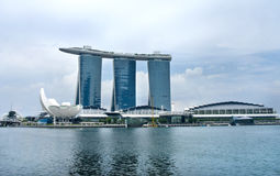 Marina Bay Sands Resort Stock Photo