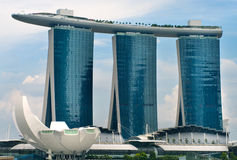 Marina Bay Sands Resort Stock Photos