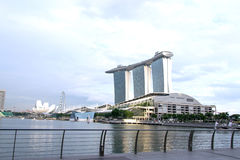 MARINA BAY SANDS RESORT Stock Image
