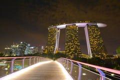 Marina Bay Sands Resort Royalty Free Stock Photography