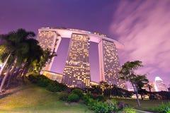 Marina Bay Sands Resort Stock Image