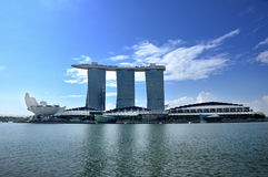 The Marina Bay Sands Resort Hotel Royalty Free Stock Images