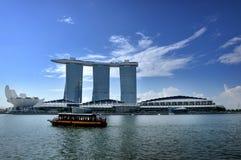 The Marina Bay Sands Resort Hotel Stock Photography