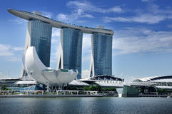 The Marina Bay Sands Resort Hotel Royalty Free Stock Image