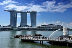 The Marina Bay Sands Resort Hotel Stock Image