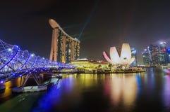 The Marina Bay Sands Resort Hotel Stock Photos