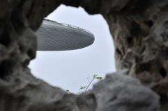 Marina Bay Sands Resort Hotel - himmel parkerar Arkivfoto
