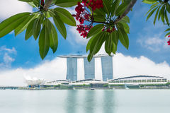 Marina Bay Sands Resort Hotel in Singapore Royalty Free Stock Photography