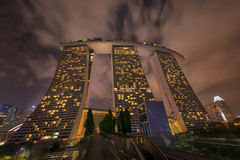 Marina Bay Sands Resort Hotel in Singapore Royalty Free Stock Photos