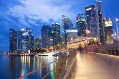 The Marina Bay Sands Resort Hotel Royalty Free Stock Photos