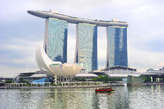 Marina Bay Sands Resort in Singapore Royalty Free Stock Images
