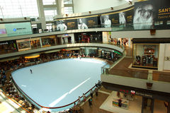 Marina Bay Sands Shopping Mall Royalty Free Stock Photography