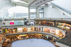 Marina Bay Sands Shopping Mall Stock Photography