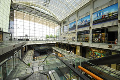 Marina Bay Sands shopping mall Stock Photos