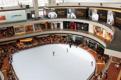 Marina Bay Sands Shopping Mall Stock Image