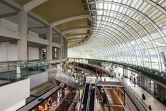 Marina Bay Sands Shopping Mall Singapore. Royalty Free Stock Images