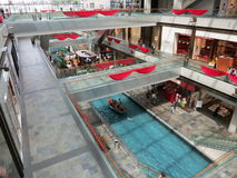 Marina Bay Sands Shopping Mall Stock Photo