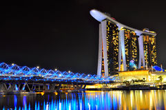 Marina Bay Sands Singapore Royalty Free Stock Photo