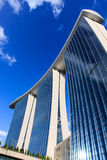 Marina Bay Sands Singapore stock photography