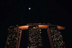 Marina Bay Sands Singapore Royaltyfri Fotografi