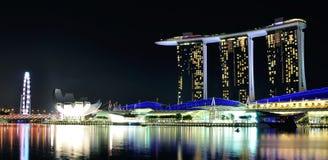 Marina Bay Sands Singapore Lizenzfreie Stockfotos